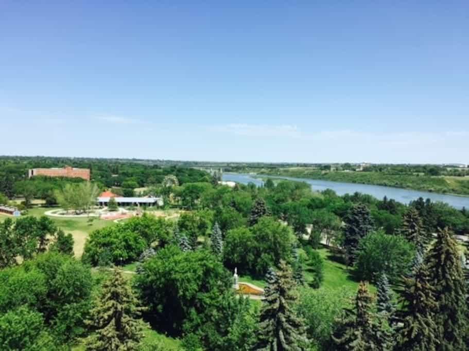Seniors condos Saskatoon view